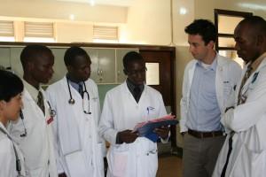 Jeremy in Uganda